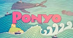 Ponyo - This is a beautiful gif
