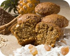 Omega 3 and gluten free, Flax muffins