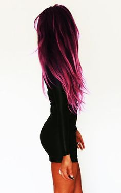 Trendy HairStyles Ideas : Black to Pink Ombre Hair www.jexshop.com/… https://greatmag.net/beauty/hair-style/trendy-hairstyles-ideas-black-to-pink-ombre-hair-www-jexshop-com/