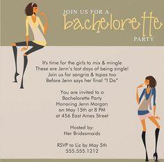 Summer party invitation template invitation sample pinterest bachelorette party invitation wording httppartyinvitationwording stopboris Gallery