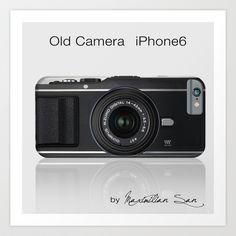 Old Camera Art Print by Maximilian San - $12.48 . Vintage Camera.   Retro Camera. iPhone Case. #iphonecase #iphone #iphone6 #iphone6case #cover #iphone6cover #protection #iphoneprotection #phonecover #ombre #lights #photography #monikastrigel #popular #popularcase #society6 #iphone6plus #camera #vintage #photo #reflex #retro #vintage camera #camara #antigua