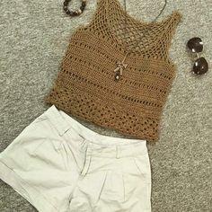 Cropped | top | blusa | croche