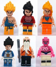 Dragonball Evolution Son Goku Vegeta Master Roshi Figures Toys