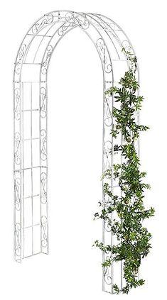 Trädgårdsportal 649 kr. 127 cm bred, 236 cm hög, 36 cm djup. Skulle vara fin mellan pallkragarna.