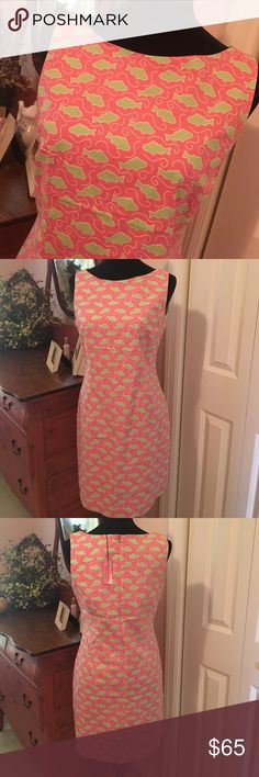NWT Vineyard Vines Cabanna Dress Adorable Vineyard Vines sleeveless cabana dress.  It's perfect to throw on after a long day at the beach or you can dress it up and be the life of the party. Size 8 Vineyard Vines Dresses Midi