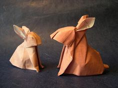 Origami Bunnies!
