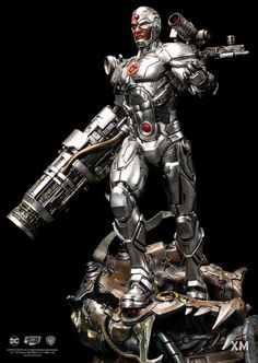 Pre-Order XM Cyborg now here with us in europe. A tragic twist of fate have him becoming part man and part machine - a Cyborg! Cyborg Dc Comics, Dc Comics Art, Marvel Dc Comics, New Titan, Dc Rebirth, Twist Of Fate, Anime, Book Art, Action Figures