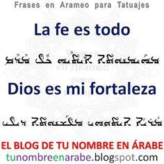 Frases Religiosas en Arameo para Tatuajes