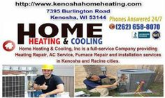 Energy Saving Tips How A/C Works How Central Heating Works HVAC Terminology Selecting a Reputable Contractor http://www.kenoshahomeheating.com