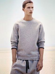Bassike Spring 2014 men's casual sportswear