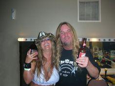 Jeff Hanneman & Rita Haney Metal Bands, Rock Bands, Jeff Hanneman, Dimebag Darrell, Metal Stars, Thrash Metal, Kinds Of Music, Heavy Metal, Badass