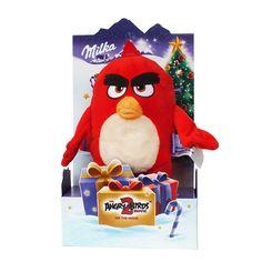 Замечательная зимняя новинка от Milka - подарочный набор восхитительного альпийского молочного шоколада и плюшевой... Milka Oreo, Angry Birds, Ronald Mcdonald, Fictional Characters