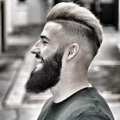 The Pompadour Hairstyle has been one of the favourite styles among men and is also the most trending hairstyles. Check out these 6 amazing styles of pompadour and choose your favourite among them. Trendy Mens Haircuts, Cool Haircuts, Hairstyles Haircuts, Cool Hairstyles, Medium Hairstyles, Wedding Hairstyles, Medium Fade Haircut, Slick Back Haircut, Mens Hairstyles Pompadour