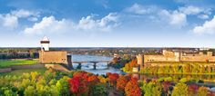 Hermann Castle in Narva built in 14th century