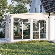 Gazebo, Pergola, Garden Room Extensions, Swedish House, Deck Plans, Outdoor Living, Outdoor Decor, Retro Home Decor, Vintage Diy