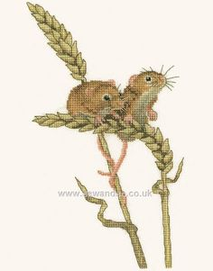 Shop online for Harvest Mice Cross Stitch Kit at sewandso.co.uk. Browse our great range of cross stitch and needlecraft products, in stock, with great prices and fast delivery.