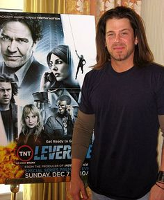 The gorgeous Christian Kane, country singer and actor.