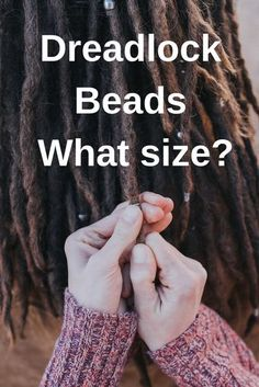 Dreadlock Beads - finding the right fit! — How to know what size dread beads you need. Blog by Mountain Dreads Small Medium and Large Dread Bead sizes. Online Dread Shop. Free Shipping #dreadbeads #dreadbeadsizes #dreadlockbeads #dreadbead #dreadlockbead