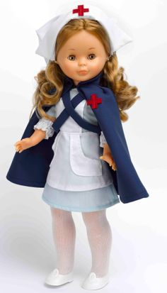 #Nancy dressed like a nurse. #dolls #muñecas #bonecas #poupees #juguetes