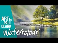 How to paint reflections in watercolour by Paul Clark - YouTube Water Reflections, Watercolour, Landscape, Stamping, Painting, Cards, Pen And Wash, Watercolor Painting, Stamping Up