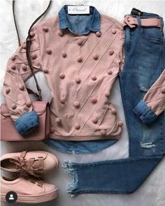 Casual styles for college girls casual outfits for high school 60 best outfits 92 ~ litledress Fashion Mode, Look Fashion, Trendy Fashion, Winter Fashion, Trendy Style, Simple Style, Cheap Fashion, Fashion Brands, Fashion Online
