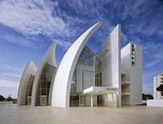 Richard Meier - Chiesa del Giubileo Cemento che respira per città a misura d'uomo