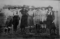 Rene Hapley, Fox Hastings, Rose Smith, Ruth Roach, Mable Strickland, Prairie Rose, or Dorothy Morrell