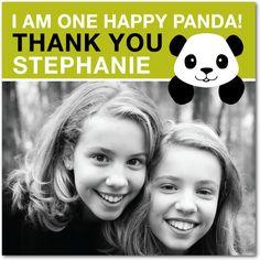Panda Gratitude - Thank You Greeting Cards from Treat.com #happypanda
