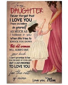 Love Mom Quotes, Niece Quotes, Daughter Poems, Birthday Quotes For Daughter, Mother Daughter Quotes, Mommy Quotes, I Love My Daughter, Son Quotes, Family Quotes