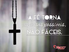 Com fé e força de vontade tudo é possível! #fe #foco #religiao #mca