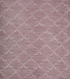 Home Decor Print Fabric-Eaton Square Copland-Purple Lattice