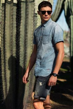 Denim look @ Jack & Jones #Fisketorvet #CopenhagenMall #fashion #mensfashion #summer #denim