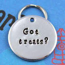 Image result for metal stamped dog tags
