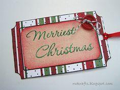 Hero Arts Christmas gift tags