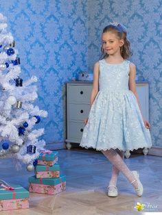 Perlitta PRA061608 платье для девочки нарядное
