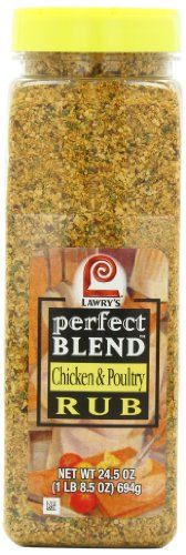 Lawry's Perfect Blend Chicken Rub, 24.5 Ounce | The Prime Gourmet