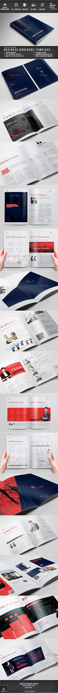 Brochure Bi Fold Brochure, Brochure Layout, Corporate Brochure, Business Brochure, Brochure Design, Booklet Design, Graphic Design Templates, Print Templates, Indesign Templates