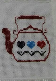 """This post was discovere Tiny Cross Stitch, Cross Stitch Pillow, Cross Stitch Kitchen, Cross Stitch Heart, Cross Stitch Borders, Modern Cross Stitch Patterns, Cross Stitch Designs, Cross Stitching, Cross Stitch Embroidery"