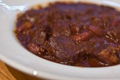 Primal/Paleo Chili (Marks Daily Apple)  This has been our go to chili for four years !  Love it.