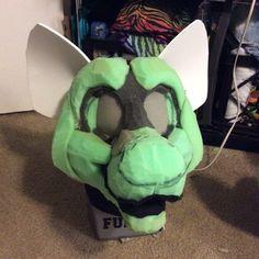 "jill0r@JILLCOSTUMES on Twitter: ""It's #FursuitFriday again? Here's a hyena I'm working on! :D #fursuit #wip https://t.co/O2UZwoZU7l"""
