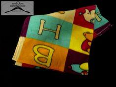 10 Darabos bébi takaró 80x110-es méretben 2 fajta mintával 5-5 db 100% Polyester (53430)