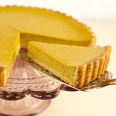 Celebrate Hallowe'en and Thanksgiving with this healthier pumpkin pie.