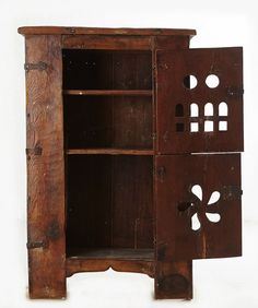 "Antique Furniture - Gothic cupboard or ""aumbry"" in walnut. Camp Kitchen Box, Renaissance Furniture, Best Woodworking Tools, Antique Furniture, Furniture Ideas, Home Crafts, Wood Projects, Home Accessories, Cupboards"