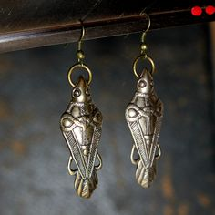 http://www.etsy.com/listing/124300147/ancient-odins-ravens-viking-earrings-in