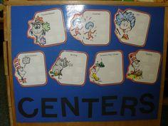 Dr. Seuss Center Idea
