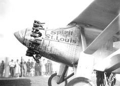 The Spirit of St. Louis visits Jacksonville a few months after Charles Lindbergh made his trans-Atlantic flight (1927). | Florida Memory