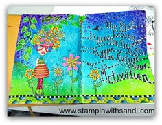 My Journal Page by Sandi @ www.stampinwithsandi.com