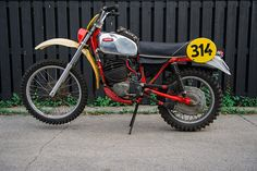 1976 JAWA 653 ISDT Bike – July 2014