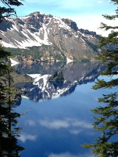 Crater Lake National Park, Oregon, USA State Of Oregon, Oregon Usa, Crater Lake National Park, National Parks, Beautiful Scenery, Beautiful Places, Crater Lake Oregon, Forest Park, Natural Wonders