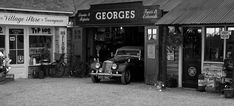 Vintage Car Garage Shop image has a public domain license. You can use it for Free and without restrictions even for commercial use Garage Shop, Car Garage, Garage Exterior, Garage Storage Systems, Garage Organization, Organization Ideas, Automobile, Dream Meanings, Centenario